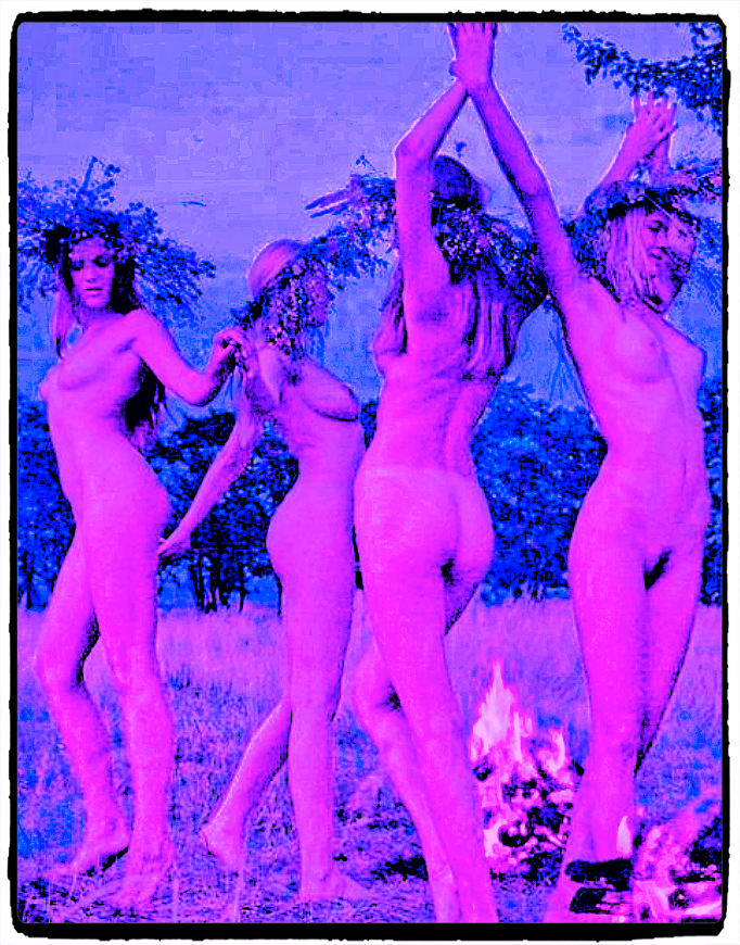 Witches dancing nude
