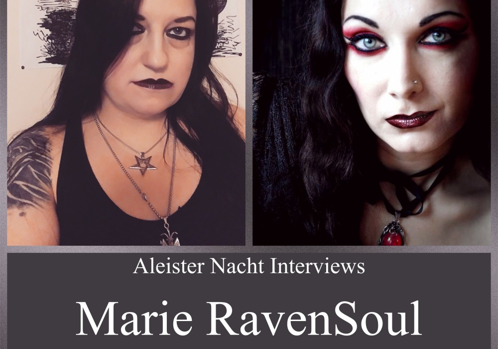 Aleister Nacht Free Live Event with Marie RavenSoul and Kindra Ravenmoon. December 6th 7:00 PM EST