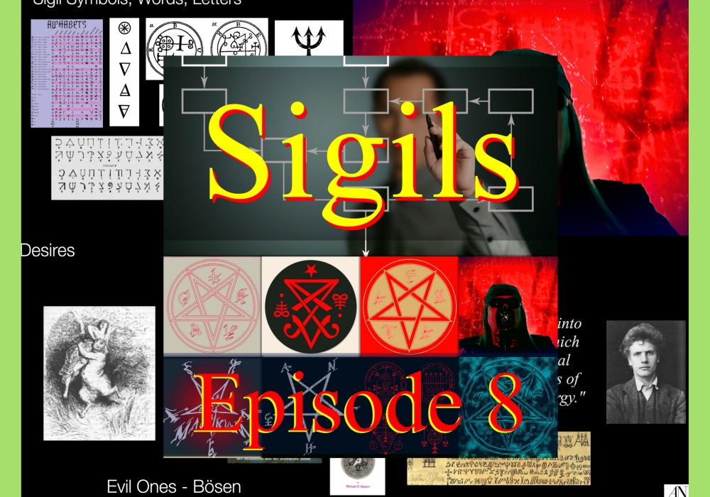 Free Live Event by Aleister Nacht The Satanic Processes Episode 8 - Topic: Sigils Sun, Jan 31st, 2020 7:00 PM EST Sponsored by: Patreons of Aleister Nacht